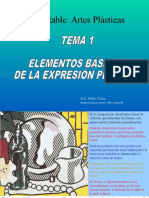 Artes Plasticas Tema 1
