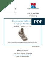 Analyse Livre Shantala