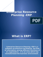Enterprise Resource Planning -ERP