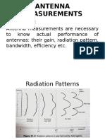 AWP Unit IV Antenna Measurements