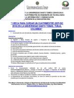 Convocatoria Movilidad Colombia Para Itic