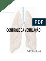 Controle Da Respiração FISIOLOGIA