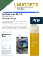 Mar 2016 NUPA Newsletter