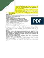 Especificaciones Equipo de Presion Constante