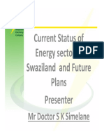 Swaziland Power Sector