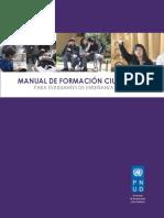 Undp Cl Gobernabilidad Manual Formacion Ciudadana
