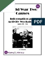 causes of world war 2