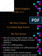 Dev C++ Borland Style Graphics