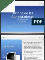Clase 1HistoriadelComputador