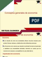 1.0 Conceptos Generales de Economia