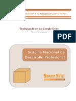 Trabajando en Un Google Docs