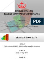 Brunei Darussalam Economic Performance (JPKE) as of 3 August 2015