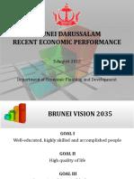 Brunei Darussalam Economic Performance (JPKE) as of 3 August 2015