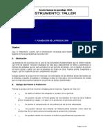 ANEXO N° 4. TALLER PLANEACION-FORMULACION