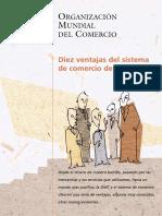 10 Ventajas Del Sistema de La OMC
