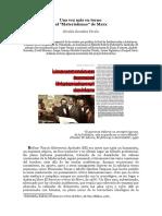 Bolívar Echeverría, Materialismo de Marx