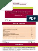Guía Investigacion Formativa 2016-I (1)