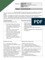 unit assessment plan