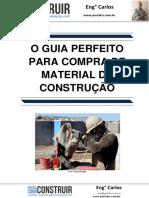 O Guia Perfeito Para Compra de Material de Construção