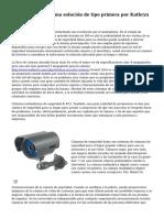 CCTV seguridad - una soluci?n de tipo primera por Kathryn Dawson