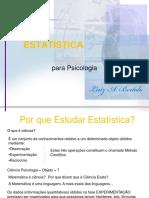 Slides Estatistica Aplicada Psicologia
