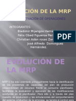Evolucion de La Mrp (2) INGENERIA INDUSTRIAL