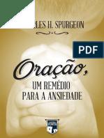 Oração - Um Remédio Para a Ansidedade - Charles H. Spurgeon