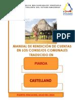 Manual Completo de Rendición de Cuentas en Los C C en Castellano 5-07-2014 Definitiva