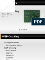WEPCrackingDriver