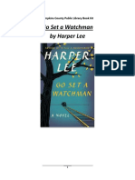 Go Set a Watchman Book Club Questions