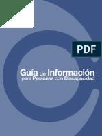Guia de información Para Personas Con Discapacidad