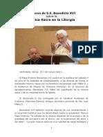 Discurso Benedicto Xvi Sobre Musica Sacra 2015