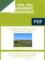El rol del Ingeniero Agrónomo.pptx