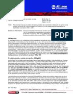 Cambios de Liquido y Filtro Allison (Spanish)