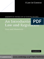 An Introduction to Law and Regulation - 2007