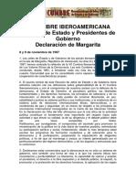 VIII Cumbre iberoamericana