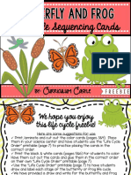 lifecyclesequencingcardsbutterflyandfrogfree