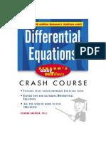 Ecuaciones Diferenciales - Schaum