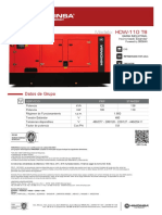 Manual Del Generador HDW-110 T6