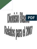 Relatos Para El 2007