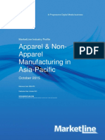 Apparel and Non Apparel Manufacturing in Asia Pacific