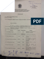 Pedido de Exoneração Coletiva - Santarém-PA - 30/3/2016