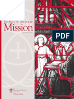 Journal of Lutheran Mission | April 2016