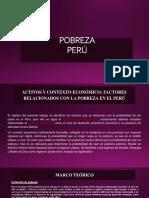 Pobreza Peru Datos