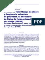 Separando Valor Tiempo Del Dinero y Del Riesgo