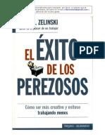 Ernie j Zelinski - El Exito de Los Perezosos