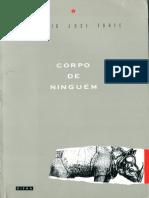 Antonio José Forte - Corpo de Ninguém (Hiena Editora 1989)