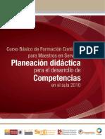 PLANEACIÓN DIDACTICA _2010