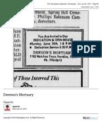 Dawson Mortuary opening 1974f