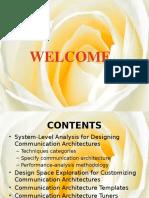 Design of Communication Architectures for Socs